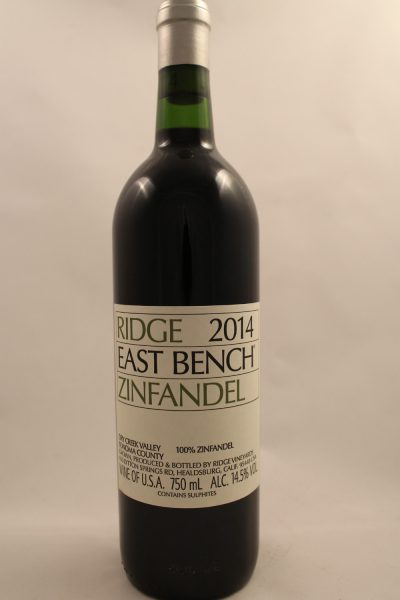 East Bench Zin